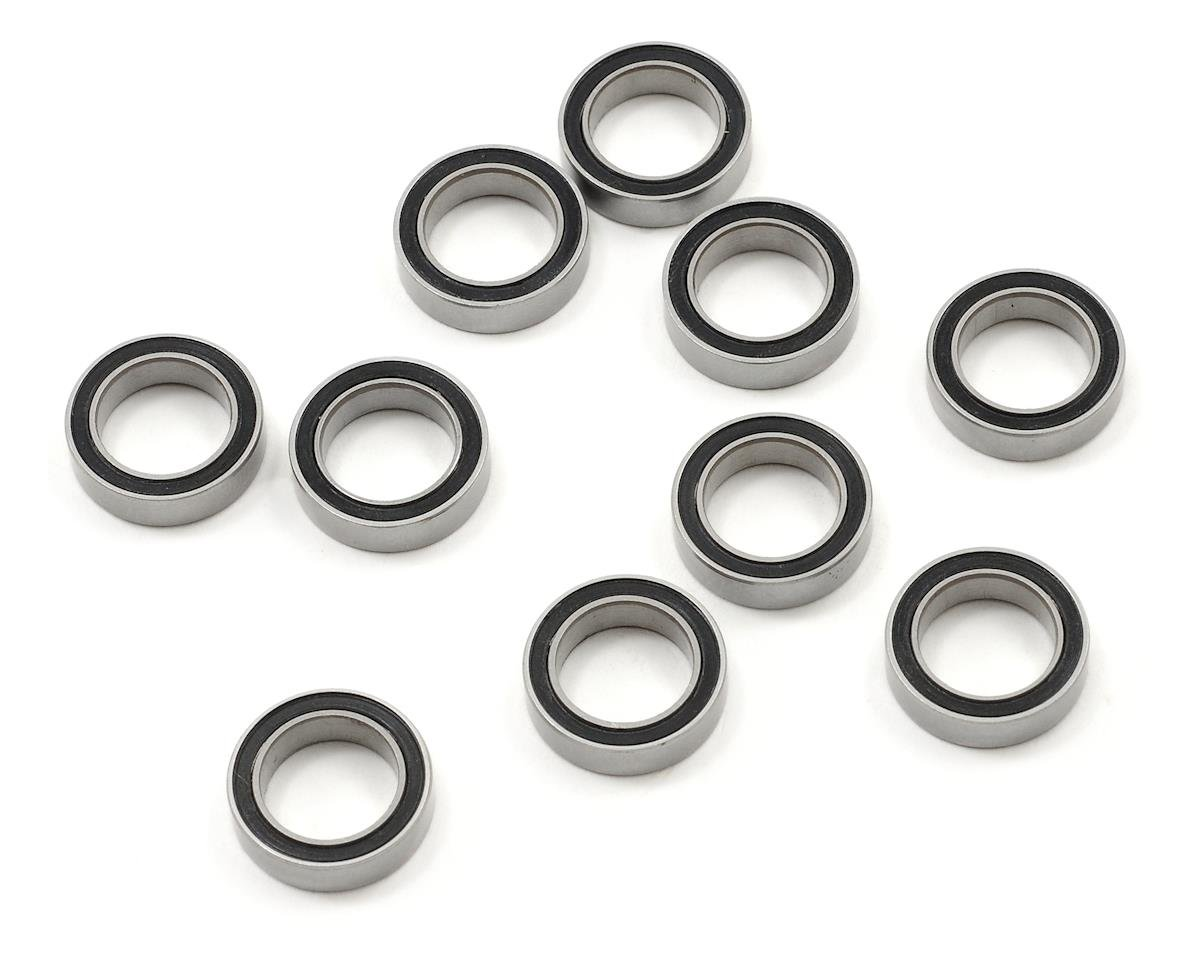 "10x15x4mm Rubber Sealed ""Speed"" Bearing (10) by ProTek RC (Tekno EB410)"