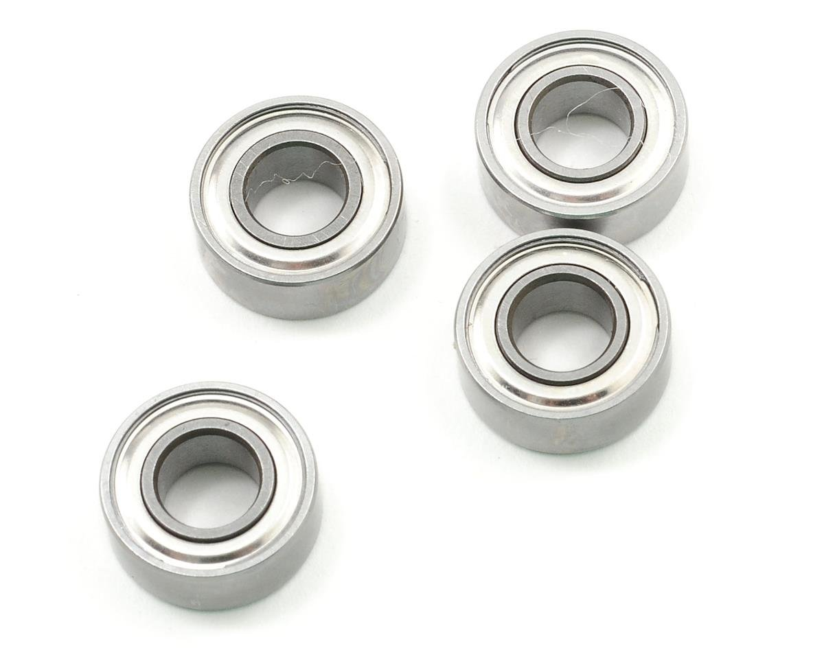 "ProTek RC 6x13x5mm Metal Shielded ""Speed"" Bearing (4) (JQ Racing THE Car (White))"