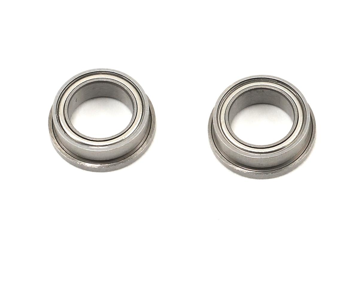 "ProTek RC 1/4x3/8x1/8"" Ceramic Metal Shielded Flanged ""Speed"" Bearing (2) (XRAY X10 2016)"