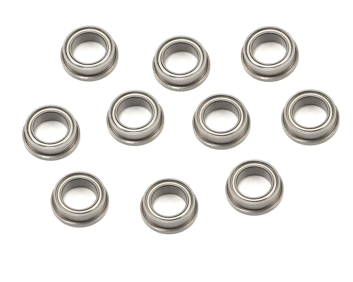 "ProTek RC 1/4x3/8x1/8"" Metal Shielded Flanged ""Speed"" Bearing (10) (Serpent S120LT)"