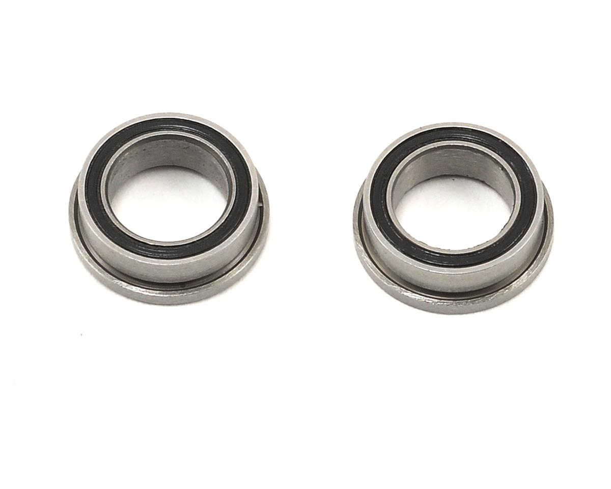 "ProTek RC 1/4x3/8x1/8"" Ceramic Rubber Shielded Flanged ""Speed"" Bearing (2) (Serpent S100)"