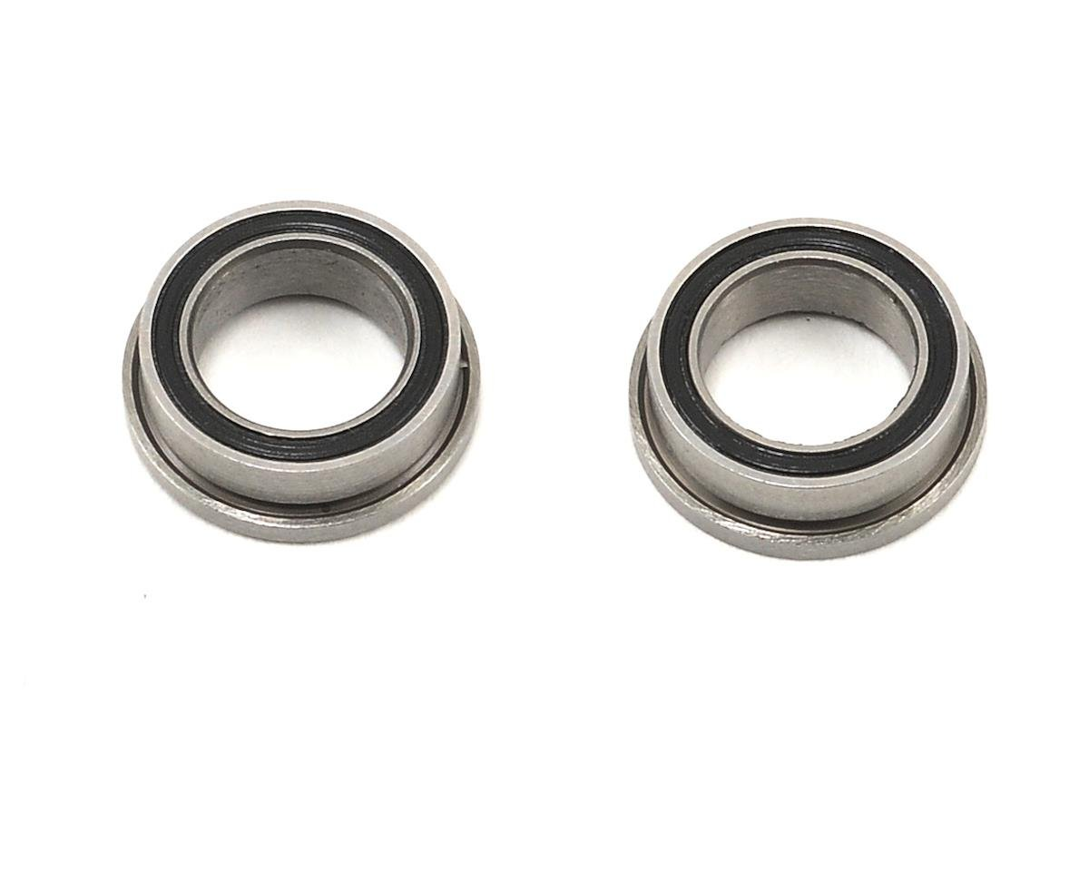 "ProTek RC 1/4x3/8x1/8"" Ceramic Rubber Shielded Flanged ""Speed"" Bearing (2) (Serpent S120LTX)"