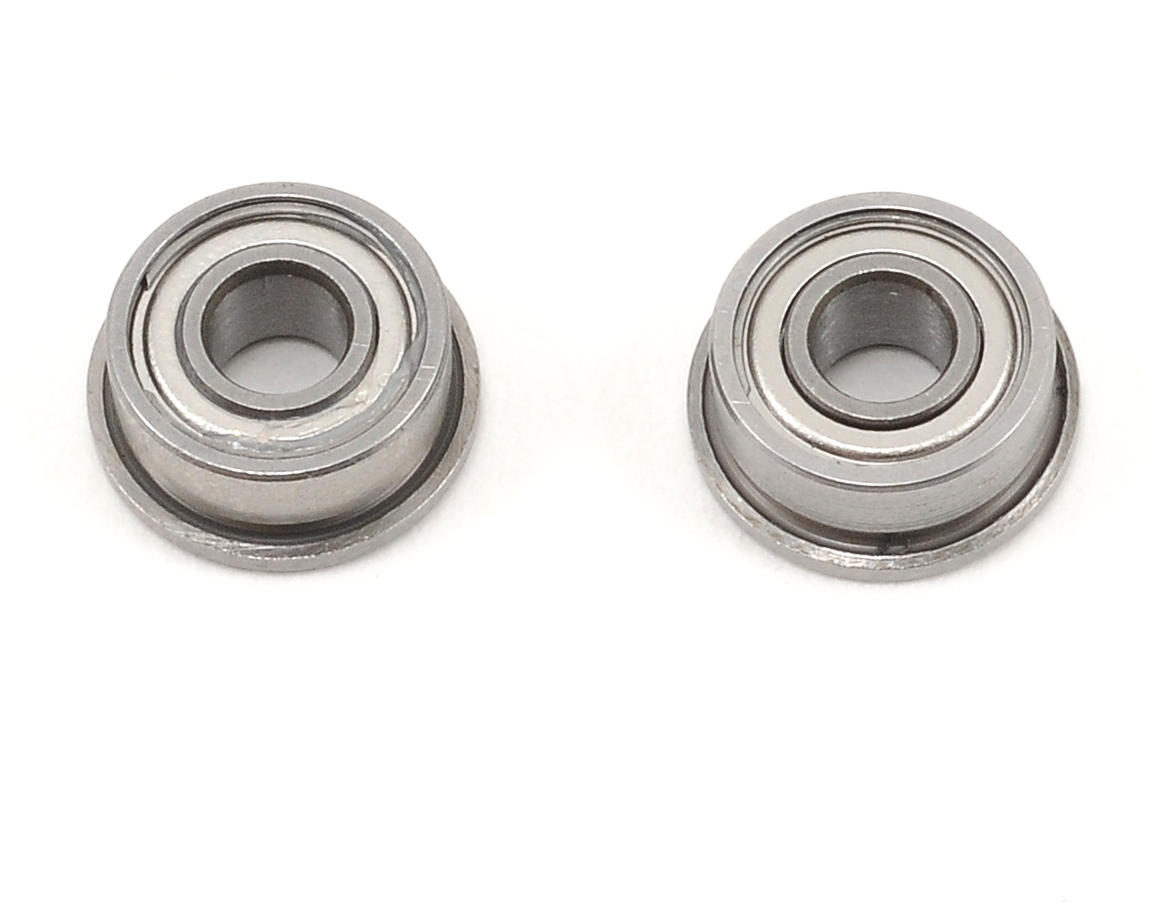 "ProTek RC 1/8x5/16x9/64"" Ceramic Metal Shielded Flanged ""Speed"" Bearing (2)"
