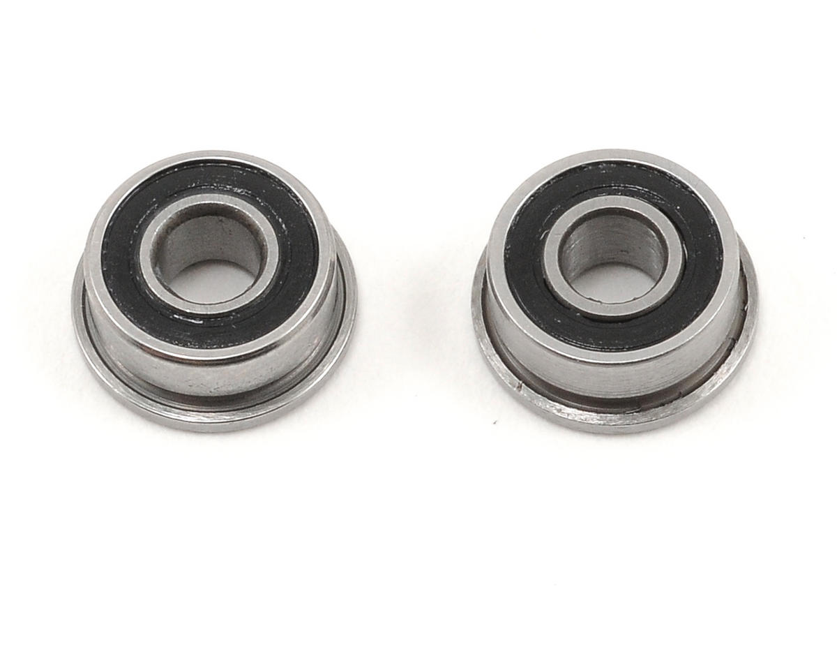 "ProTek RC 1/8x5/16x9/64"" Ceramic Rubber Sealed Flanged ""Speed"" Bearing (2)"