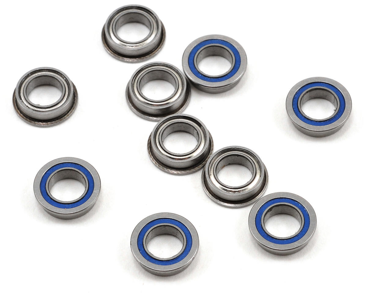 "5x8x2.5mm Dual Sealed Flanged ""Speed"" Bearing (10) by ProTek RC"