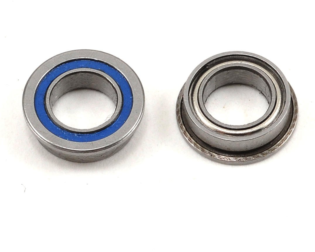 "5x8x2.5mm Ceramic Dual Sealed Flanged ""Speed"" Bearing (2) by ProTek RC"