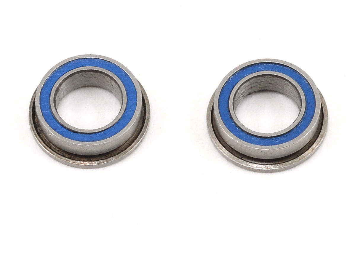 "ProTek RC 5x8x2.5mm Ceramic Rubber Sealed Flanged ""Speed"" Bearing (2)"