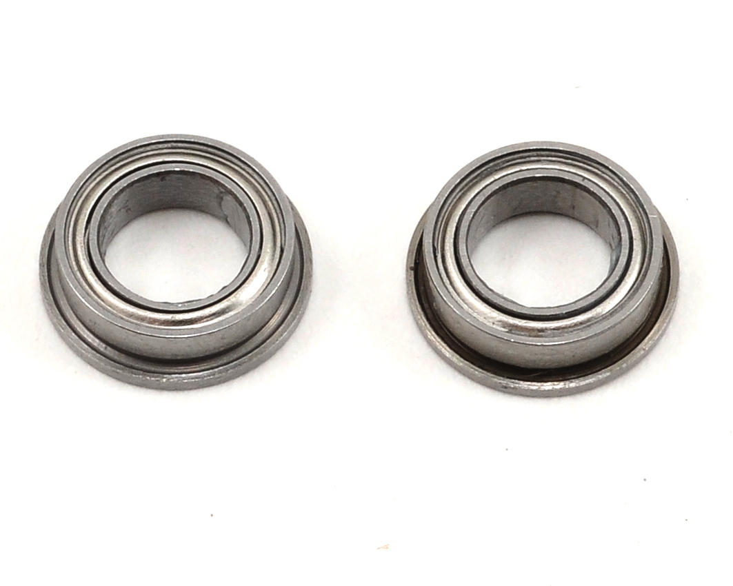 "ProTek RC 5x8x2.5mm Ceramic Metal Shielded Flanged ""Speed"" Bearing (2)"