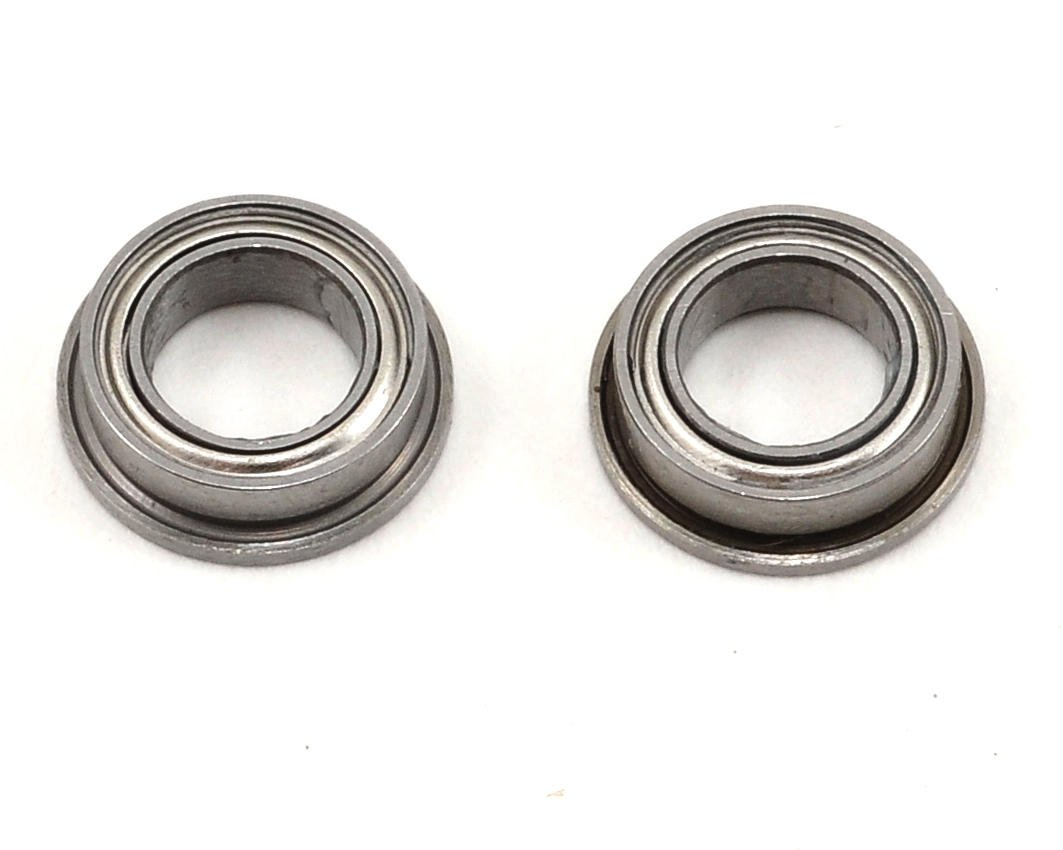 "5x8x2.5mm Ceramic Metal Shielded Flanged ""Speed"" Bearing (2) by ProTek RC (Serpent 733)"