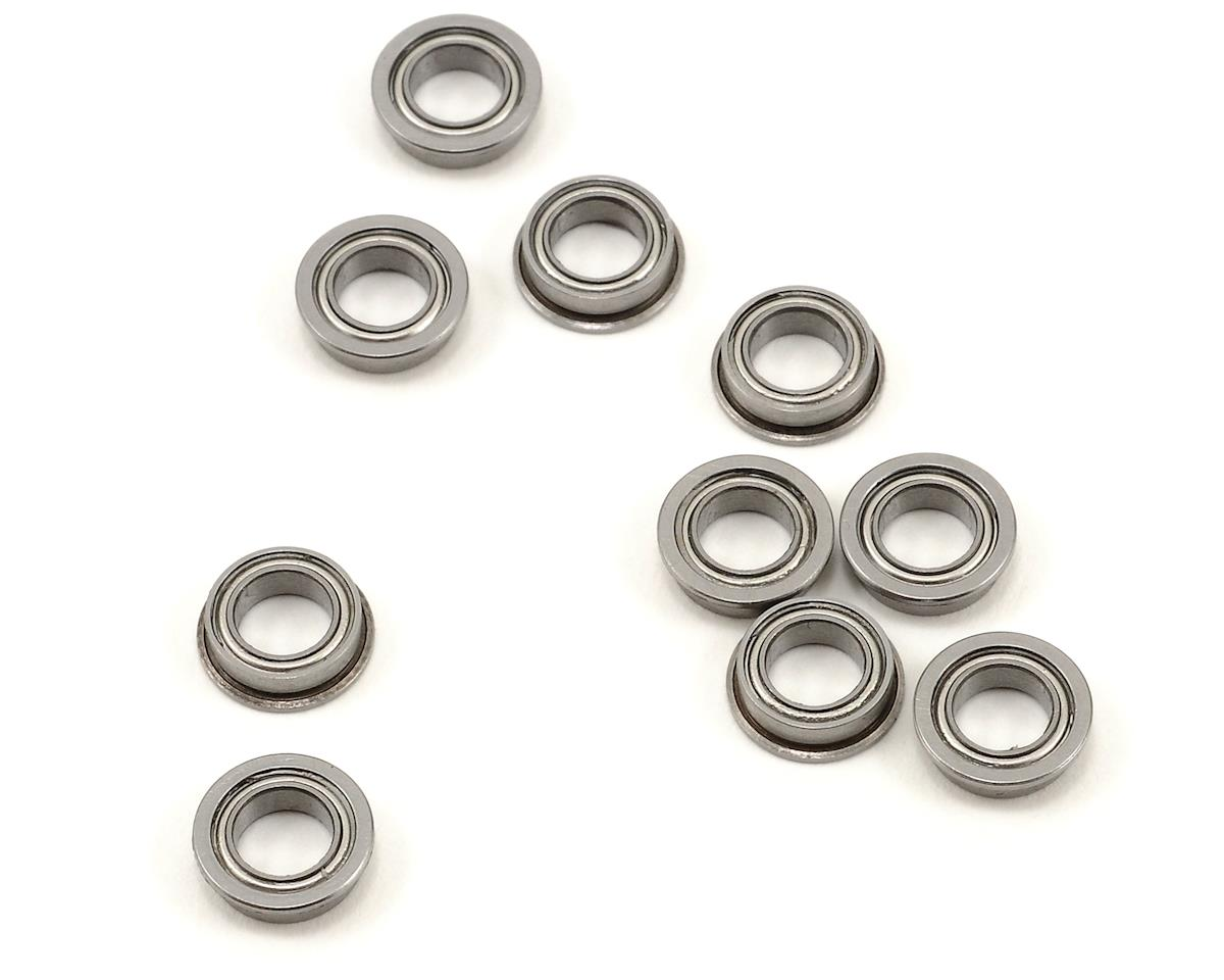 "5x8x2.5mm Metal Shielded Flanged ""Speed"" Bearing (10) by ProTek RC"