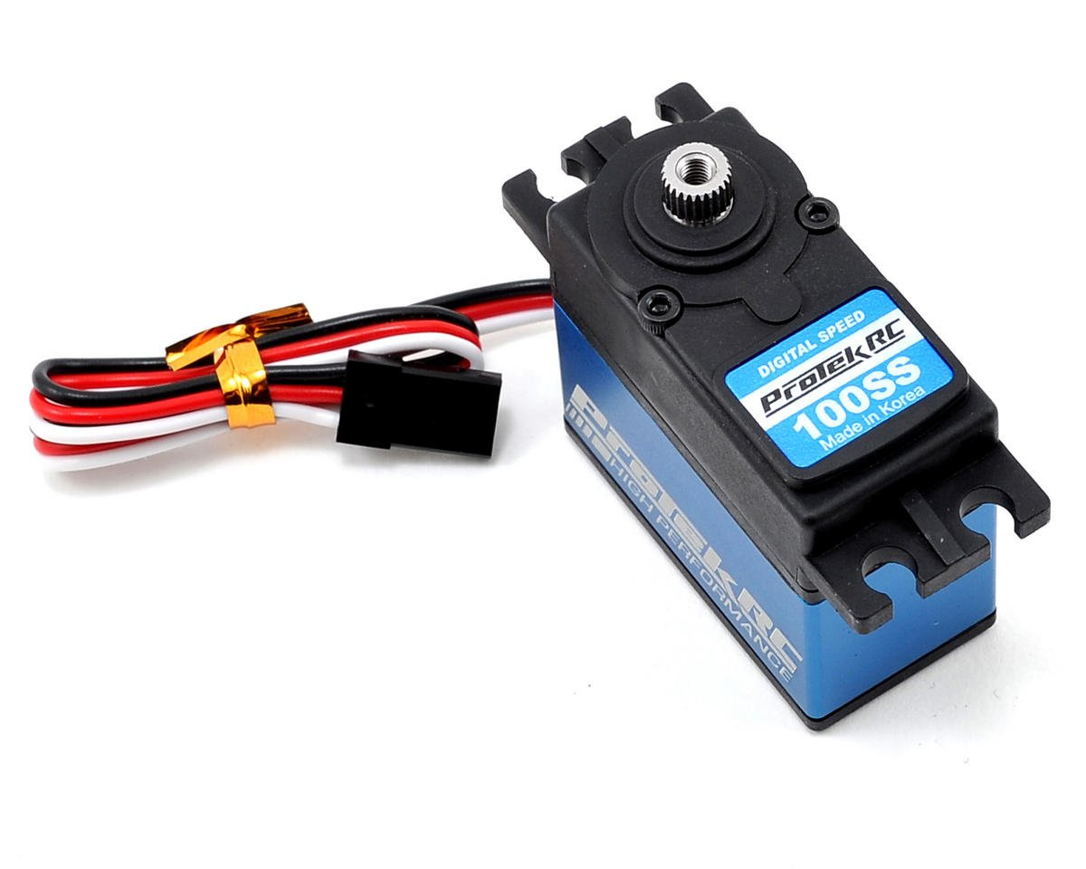 "ProTek RC 100SS Standard Digital ""Super Speed"" Metal Gear Servo 