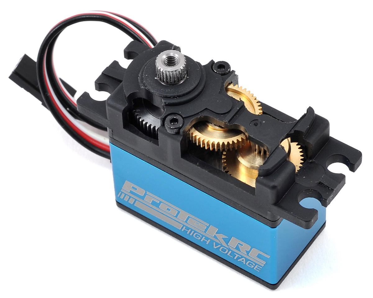 "Image 2 for ProTek RC 100SS Standard Digital ""Super Speed"" Metal Gear Servo"
