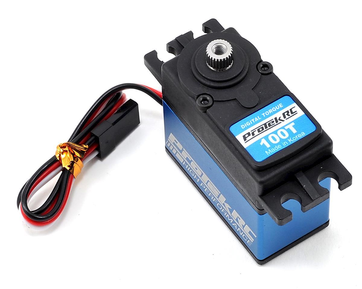 Protek rc 100t standard digital high torque metal gear for Rc car servo motor