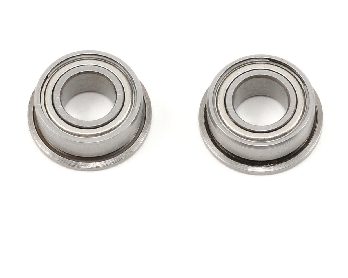 "ProTek RC 5x10x4mm Ceramic Metal Shielded Flanged ""Speed"" Bearing (2)"