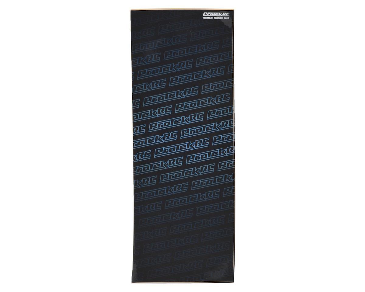 ProTek RC Universal Uncut Chassis Protective Sheet (Blue) (1) (12.5x33.5cm)