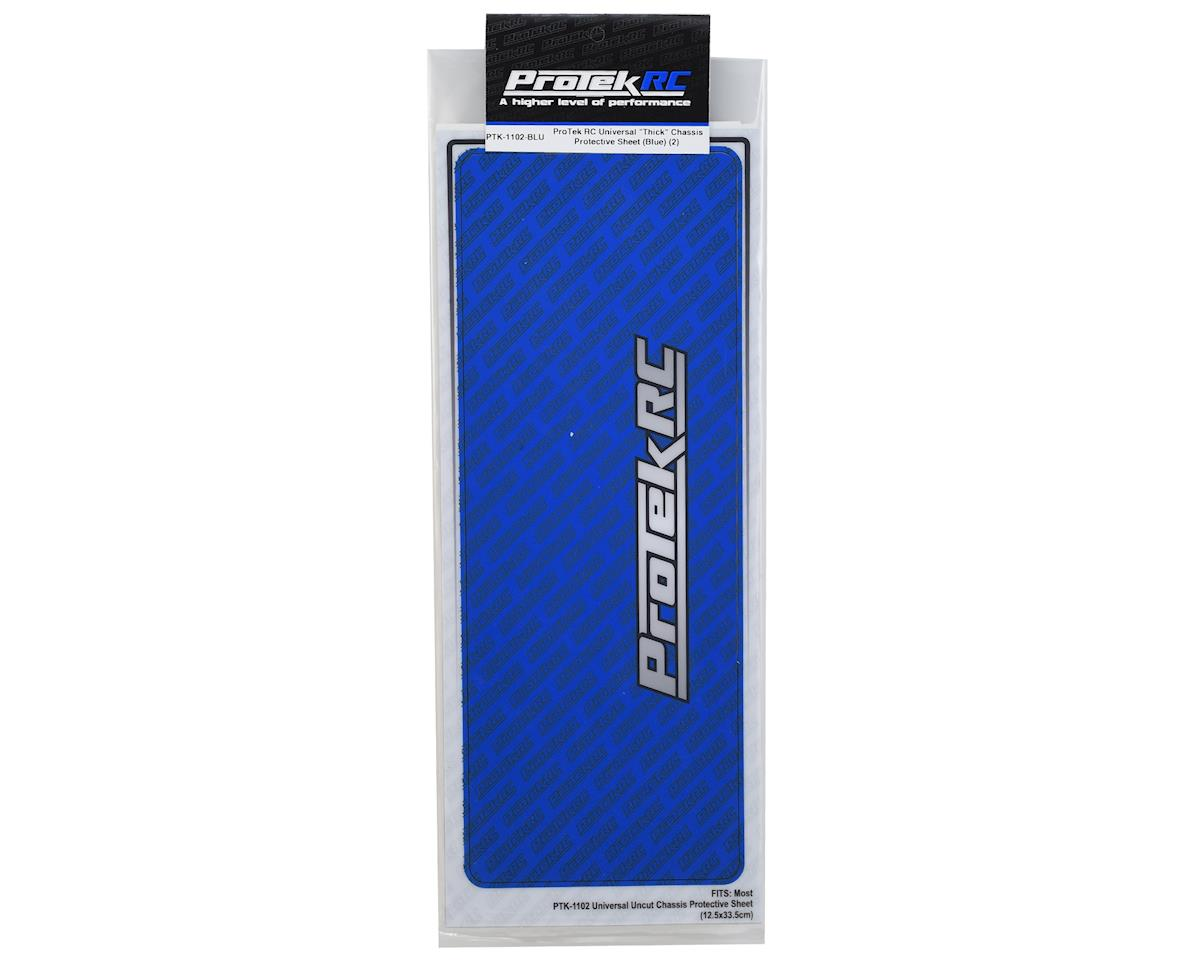 ProTek RC Universal Chassis Protective Sheet (Blue) (2)