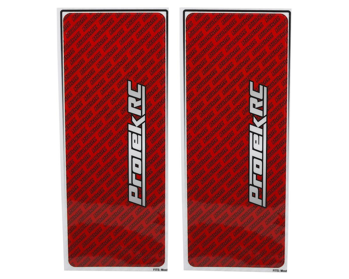 ProTek RC Universal Chassis Protective Sheet (Red) (2)
