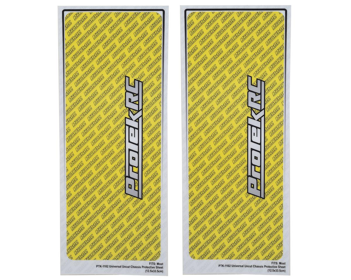 "Universal ""Thick"" Chassis Protective Sheet (Yellow) (2) by ProTek RC"