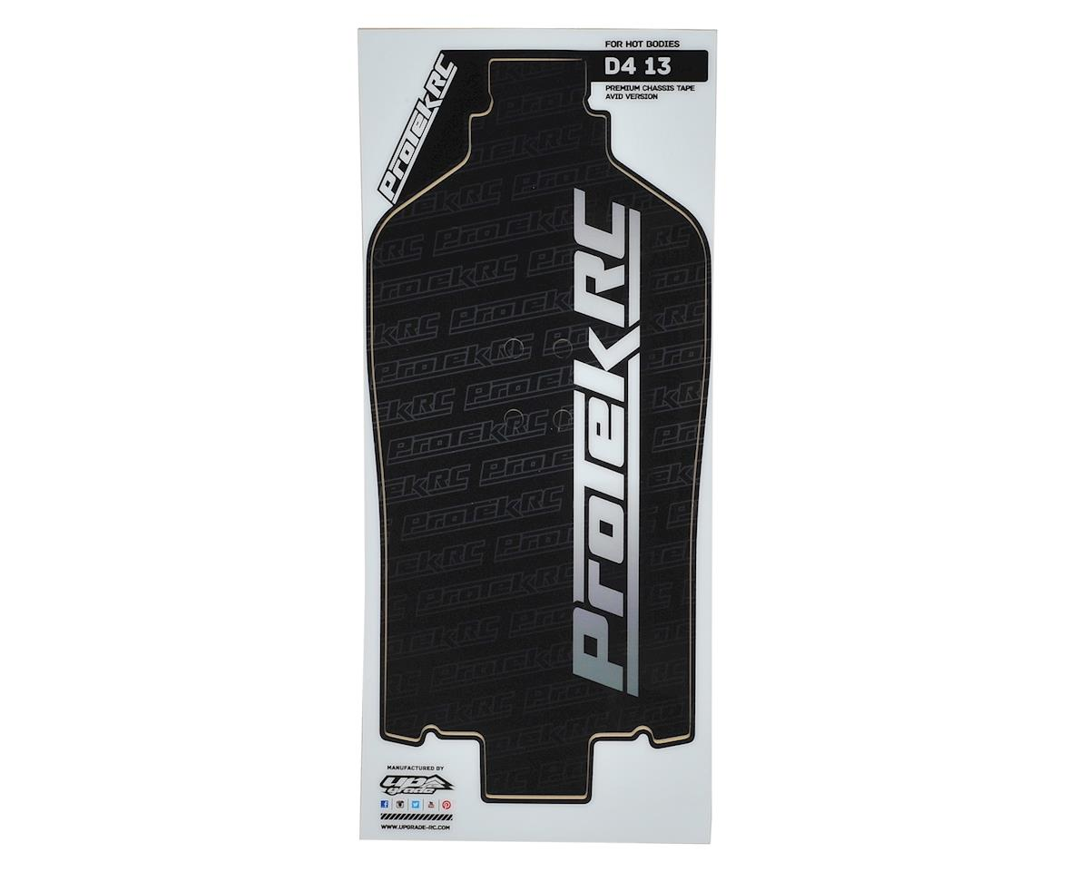 ProTek RC D413 & Avid Chassis Thick Precut Protective Sheet (Black) (1)