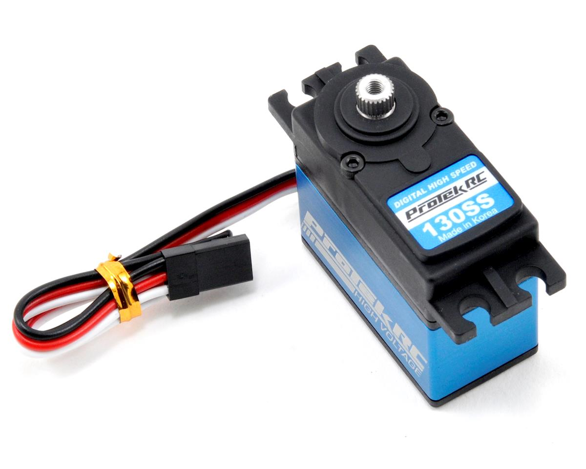"130SS Standard Digital ""Super Speed"" Metal Gear Servo (High Voltage) by ProTek RC"