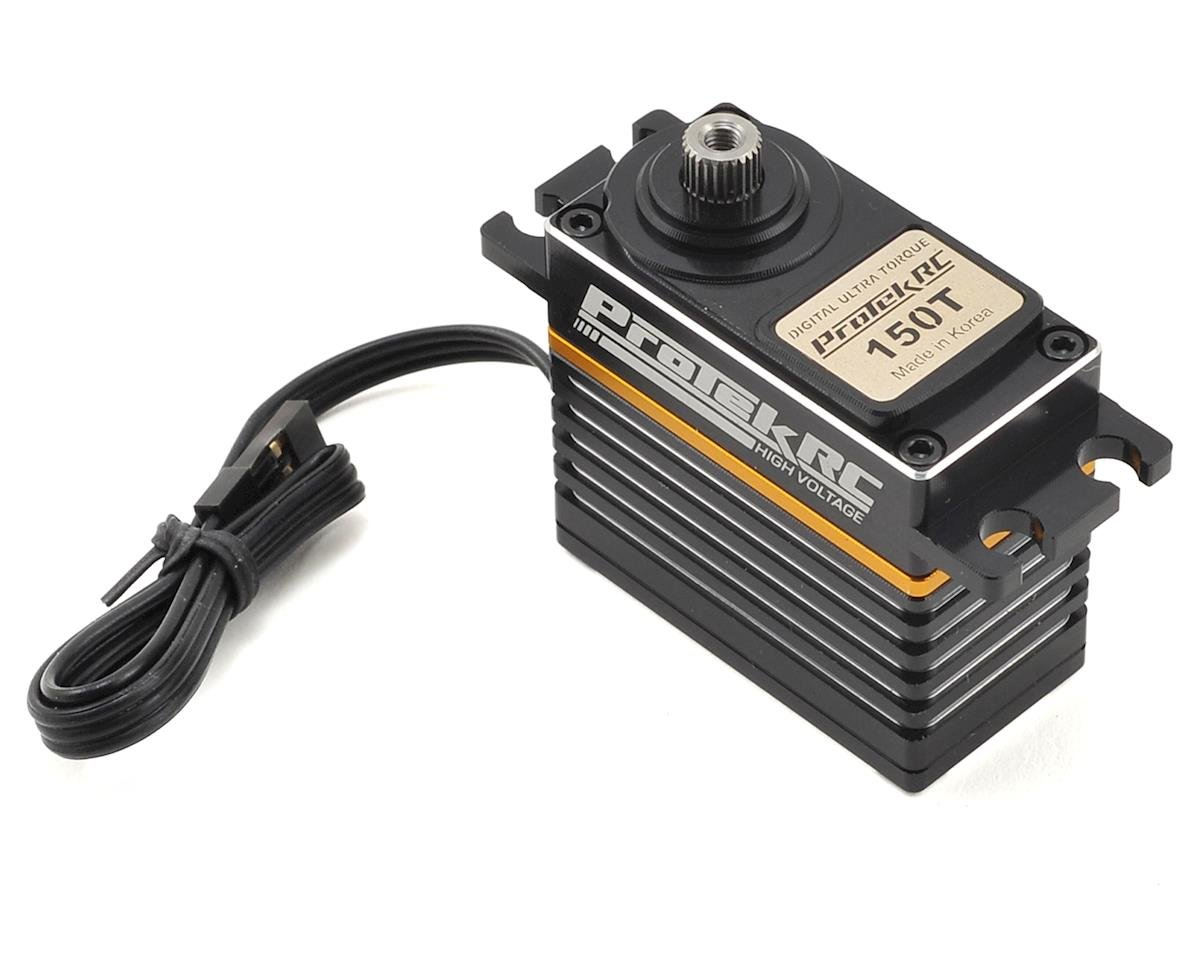 150T Digital High Torque Metal Gear Servo (High Voltage/Metal Case) by ProTek RC