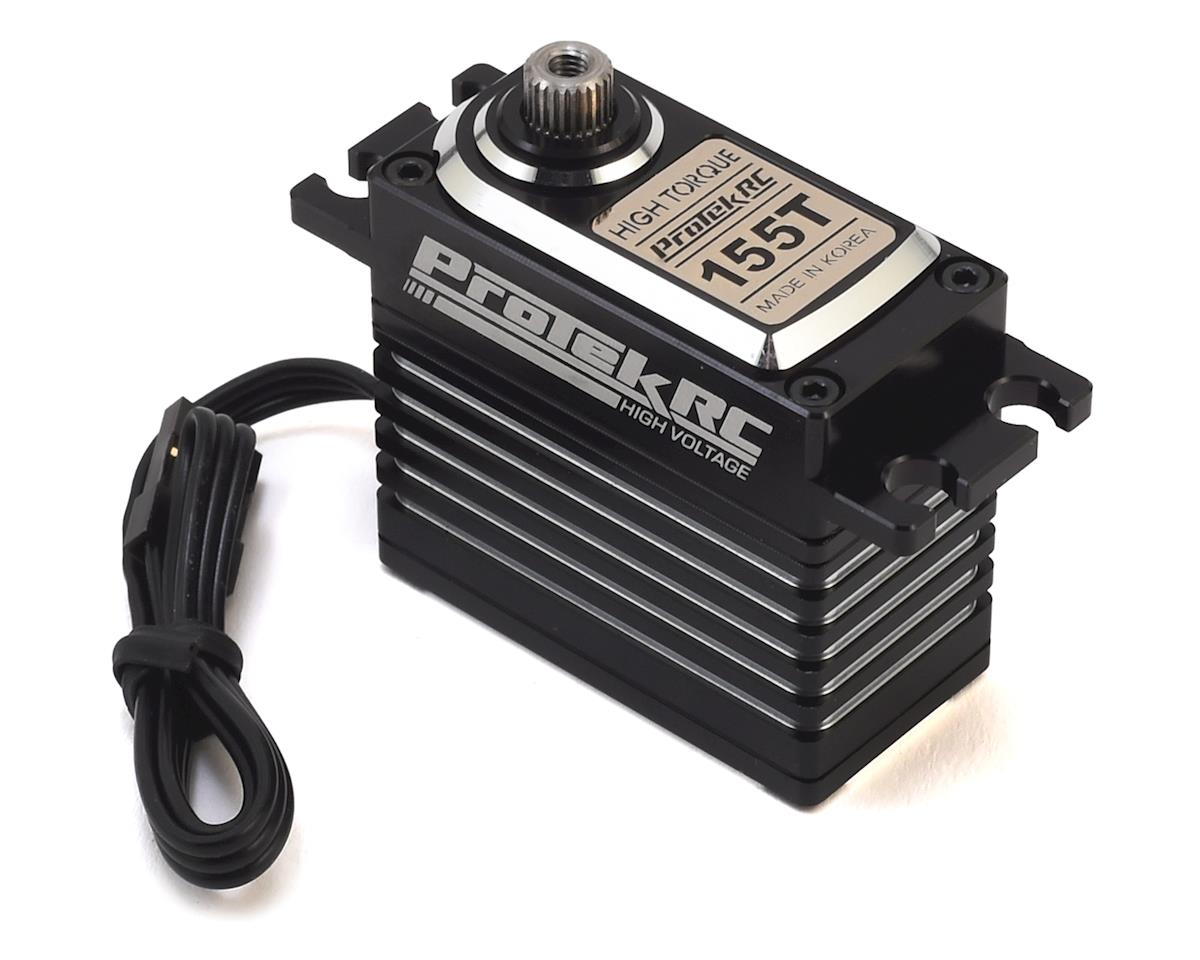 "155T Digital ""High Torque"" Metal Gear Servo (High Voltage/Metal Case) by ProTek RC"