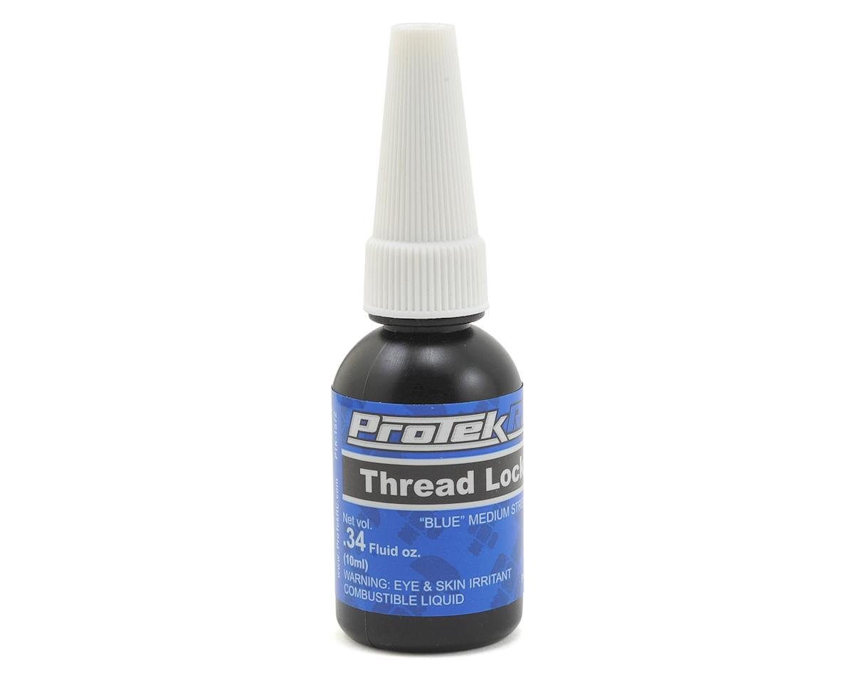 Blue Thread Lock (Medium) (0.34oz) by ProTek RC