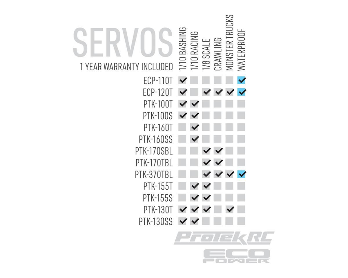Protek Rc 160t Low Profile High Torque Metal Gear Servo Voltage Desert Dynamics Winch Wiring Diagram Case Ptk Cars Trucks Amain Hobbies