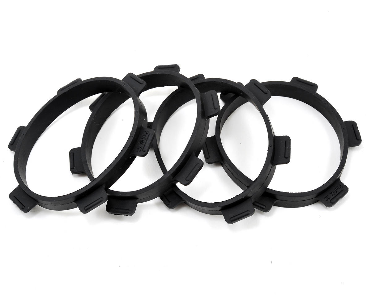 1/8 Buggy & 1/10 Truck Tire Mounting Glue Bands (4) by ProTek RC