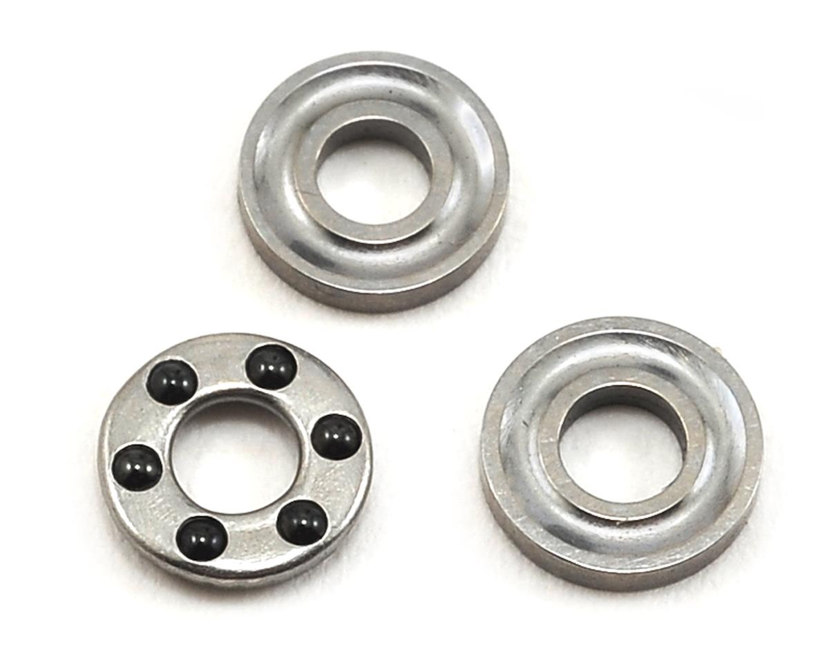 ProTek RC 2.5x6x3mm Associated/TLR Precision Caged Thrust Bearing Set (Ceramic) (Losi 22)