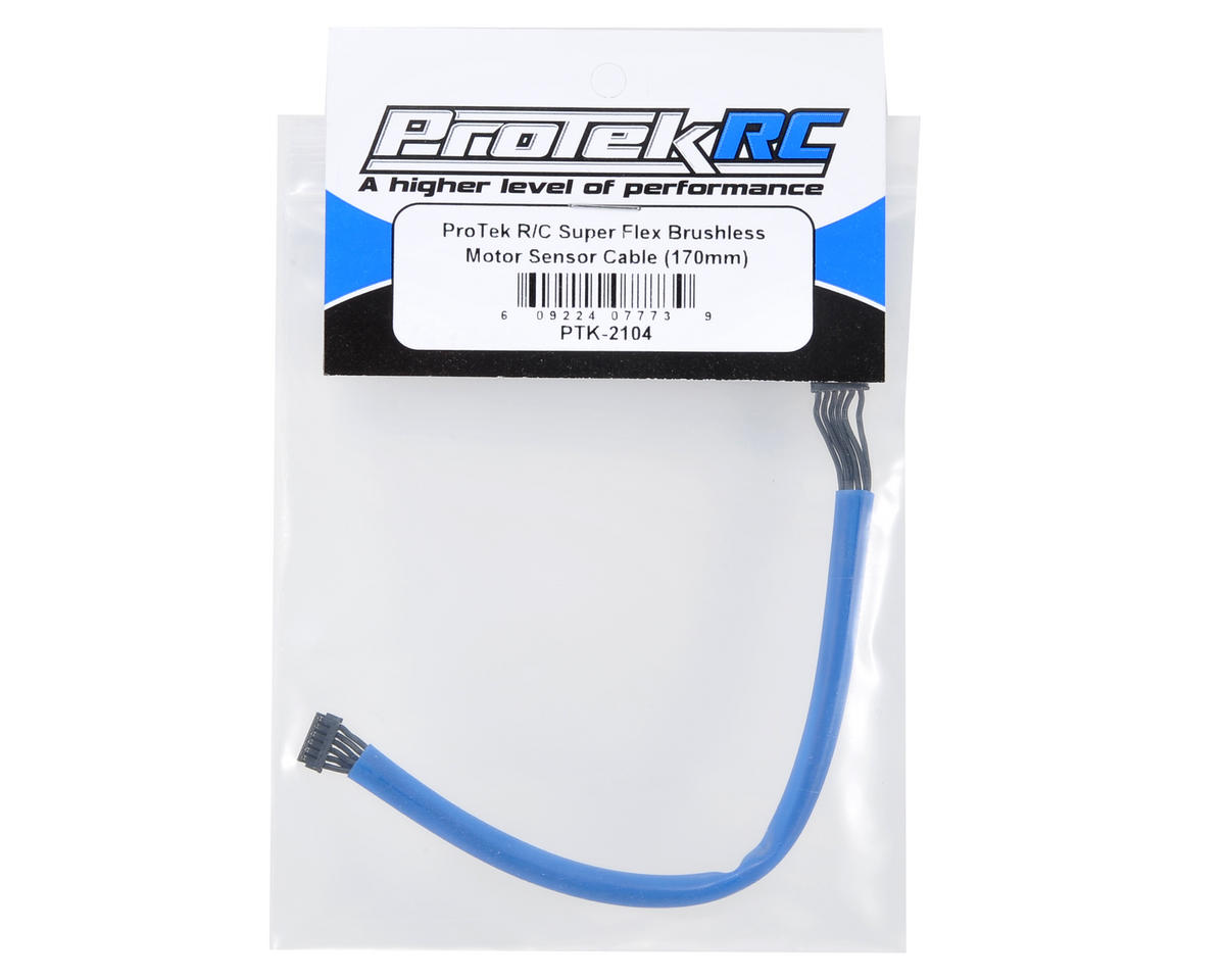 ProTek RC Super Flex Brushless Motor Sensor Cable (170mm)