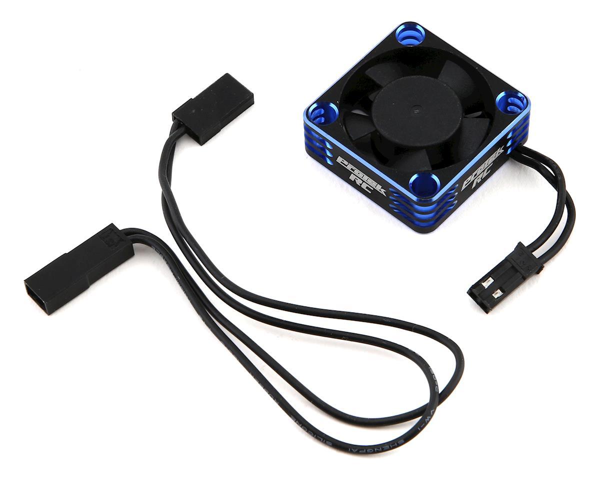 Image 1 for ProTek RC 30x30x10mm Aluminum High Speed HV Cooling Fan (Blue/Black)