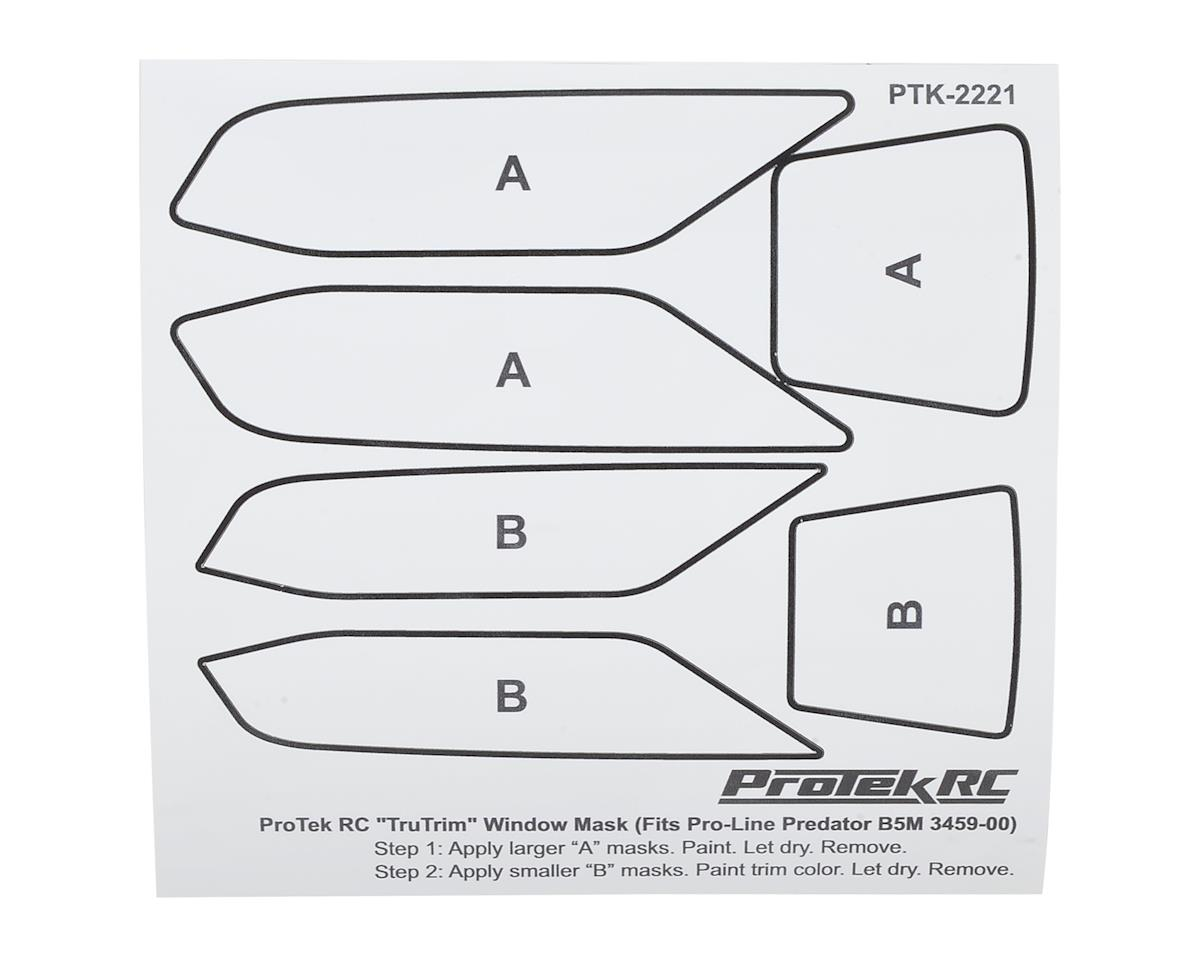 ProTek RC TruTrim B5M Window Mask Trim Set (Pro-Line Predator PRO3459-00)