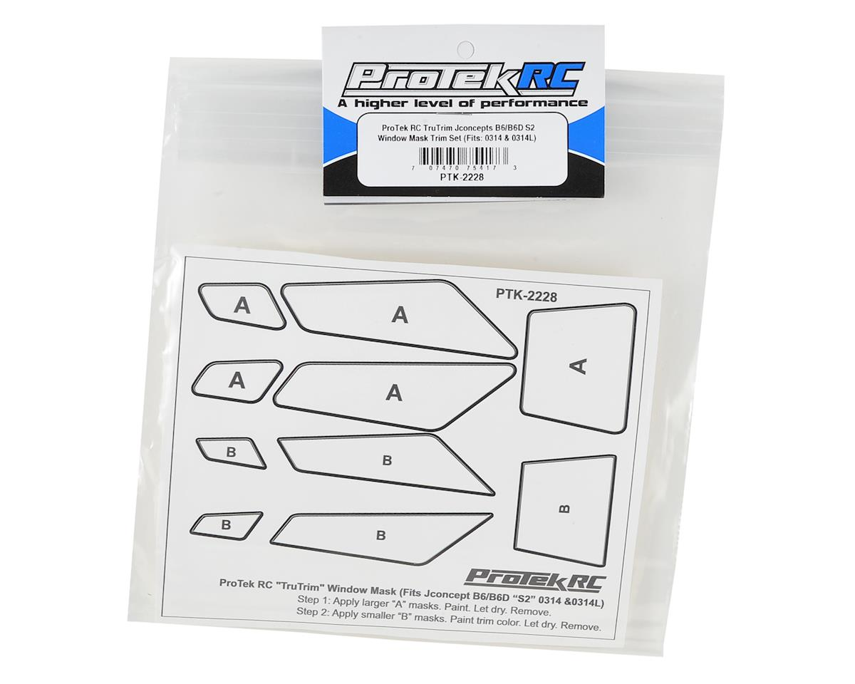 ProTek RC TruTrim B6/B6D S2 Window Mask Trim Set (JConcepts JCO0314 & JCO0314L)