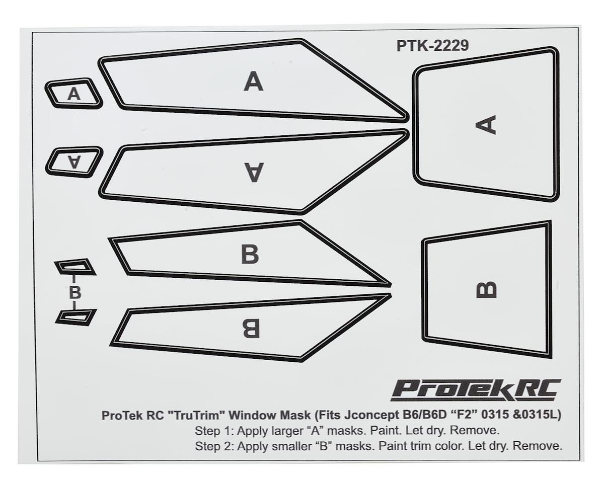 ProTek RC TruTrim B6/B6D F2 Window Mask Trim Set (Fits: JCO0315 & JCO0315L)