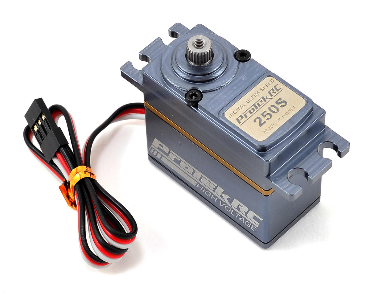 "ProTek RC 250S Standard Digital ""Super Speed"" Helicopter Tail Servo (High Voltage/Metal Case)"