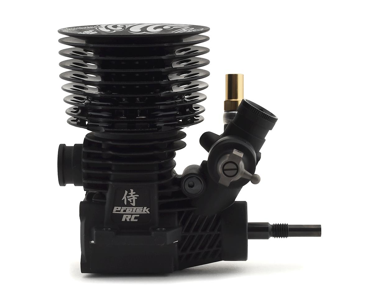 Image 2 for ProTek RC Samurai R03 3-Port .21 Competition Nitro Engine w/22E Carburetor