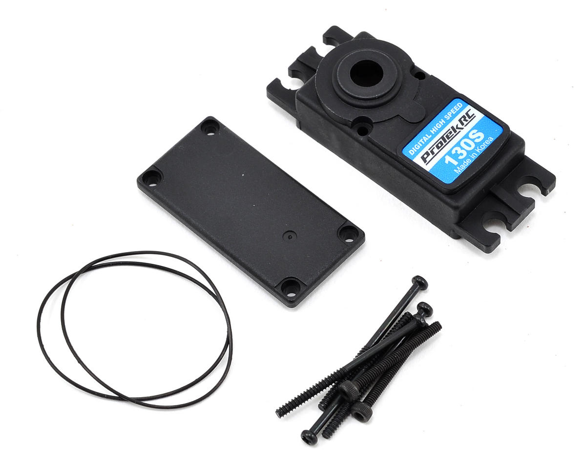 ProTek RC PTK-130S Upper/Lower Plastic Servo Case Set