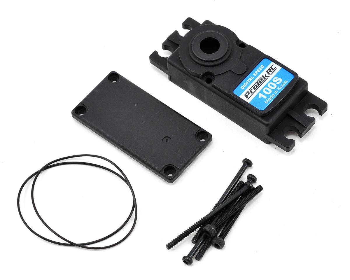 ProTek RC PTK-100S Upper/Lower Plastic Servo Case Set