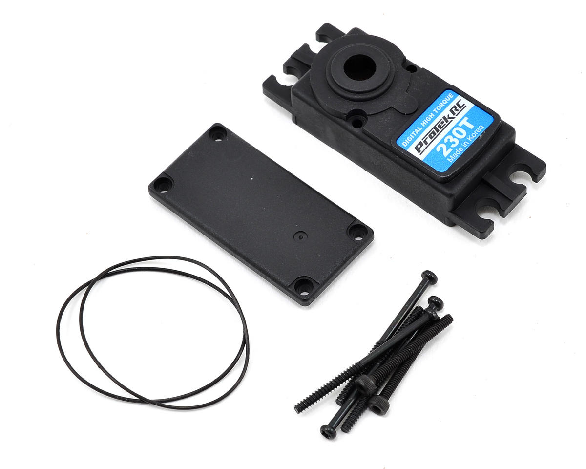 ProTek RC PTK-230T Upper/Lower Plastic Servo Case Set