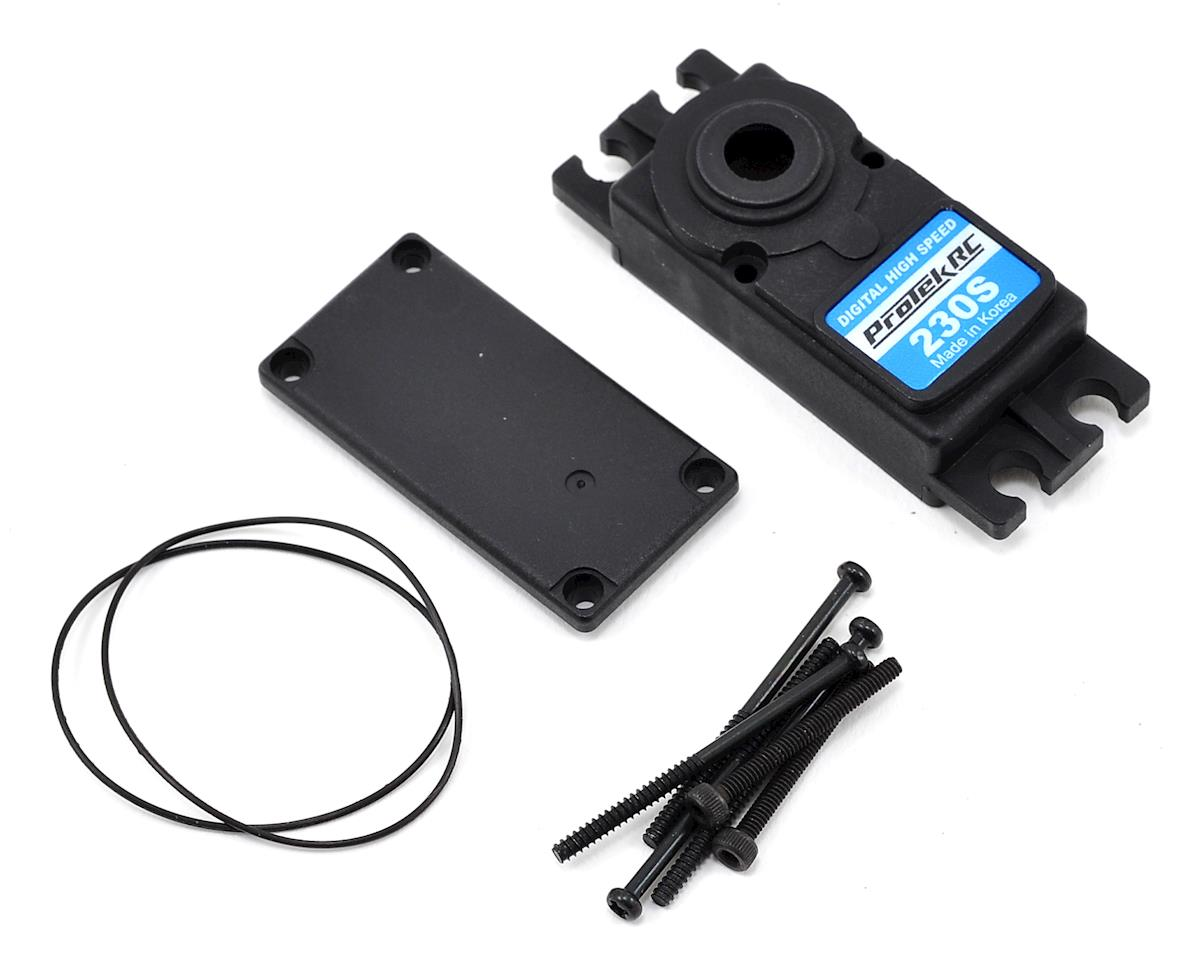 ProTek RC PTK-230S Upper/Lower Plastic Servo Case Set