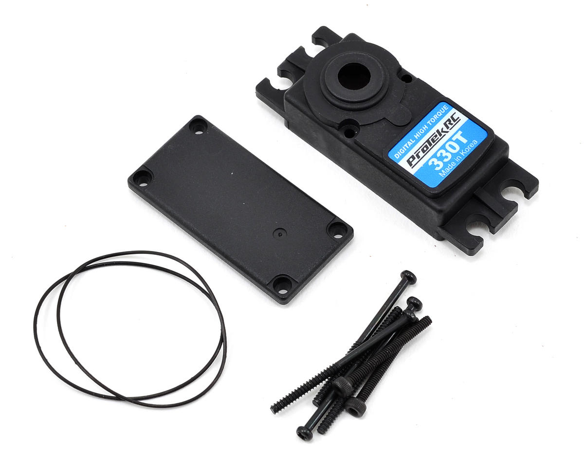 ProTek RC PTK-330T Upper/Lower Plastic Servo Case Set
