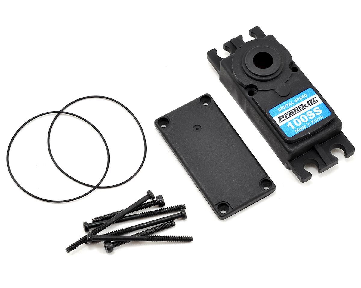 Image 1 for ProTek RC PTK-100SS Upper/Lower Plastic Servo Case Set