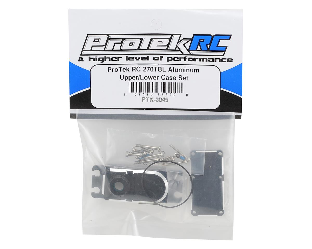 ProTek RC 270TBL Aluminum Upper/Lower Case Set