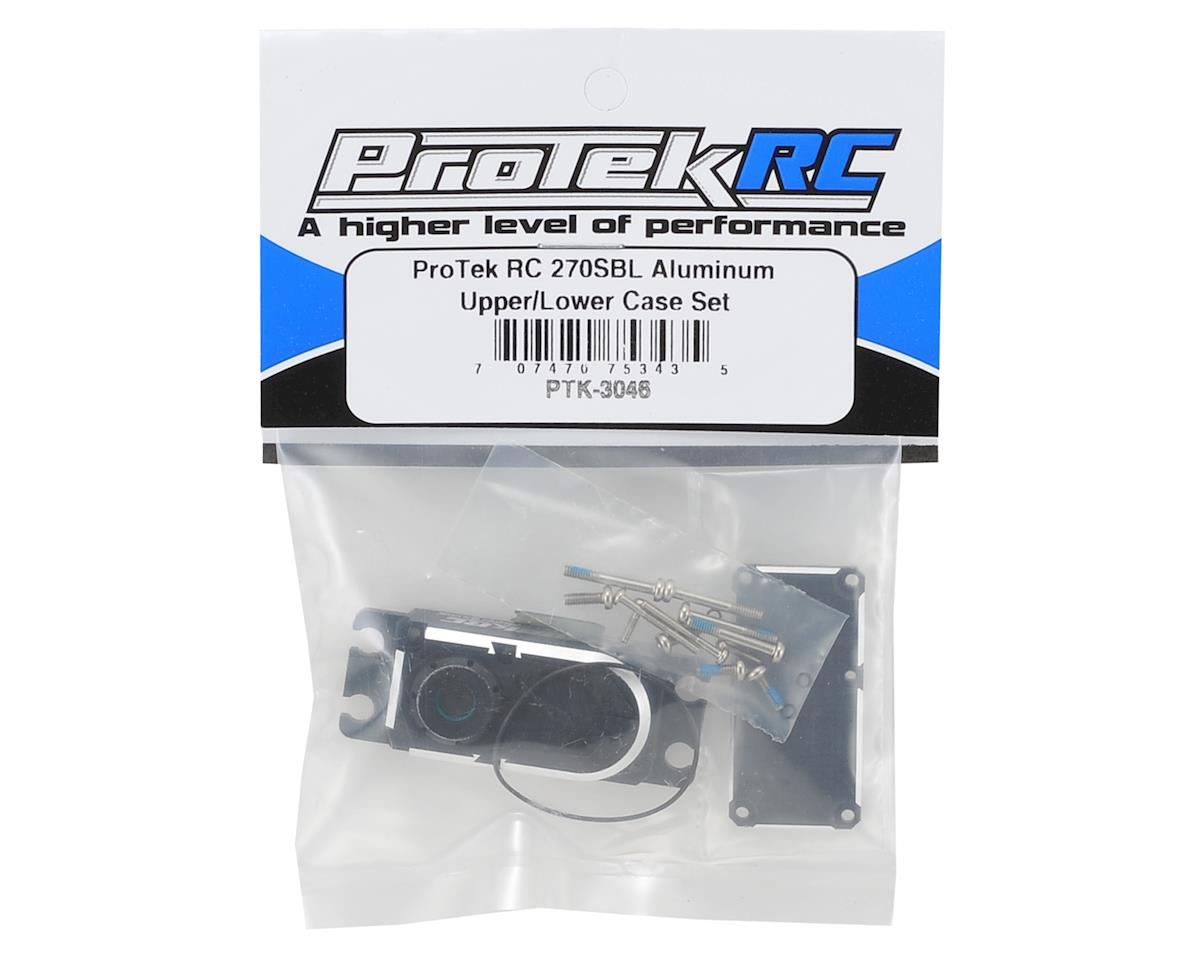 270SBL Aluminum Upper/Lower Case Set by ProTek RC