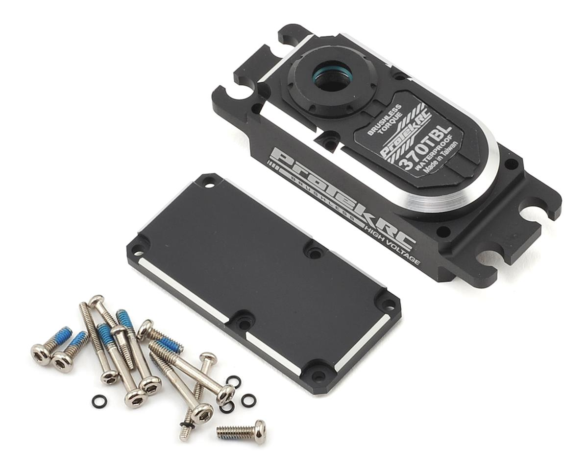 ProTek RC 370TBL Aluminum Upper/Lower Servo Case Set
