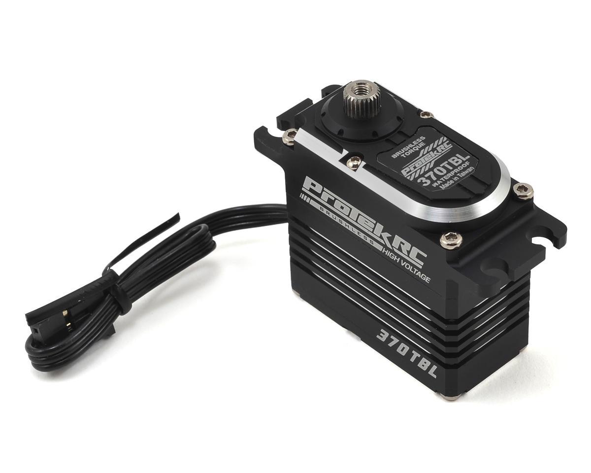 ProTek RC 370TBL Black Label Waterproof High Torque Brushless Crawler Servo High Voltage Metal Case Digital PTK370TBL