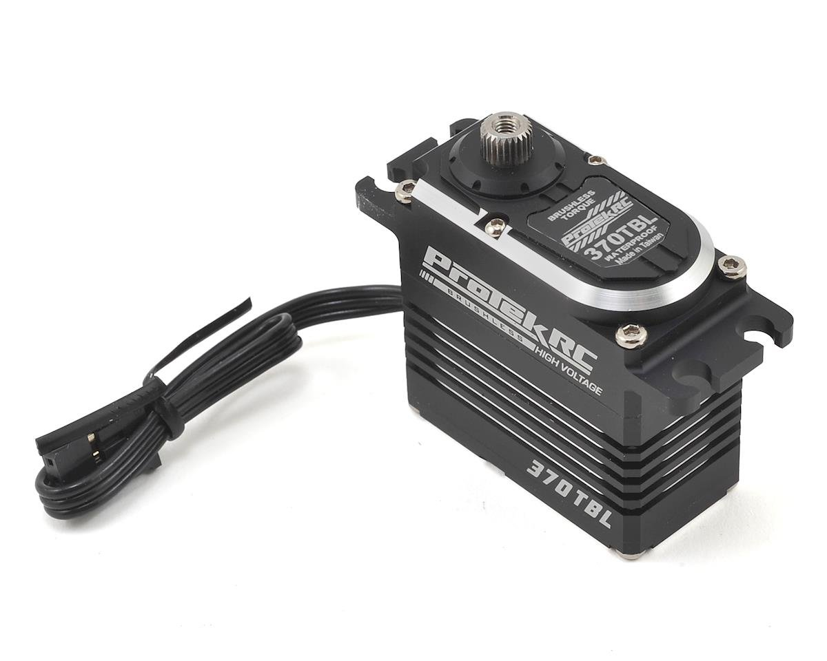 "ProTek RC 370TBL ""Black Label"" Waterproof High Torque Brushless Crawler Servo (Traxxas TRX-4)"
