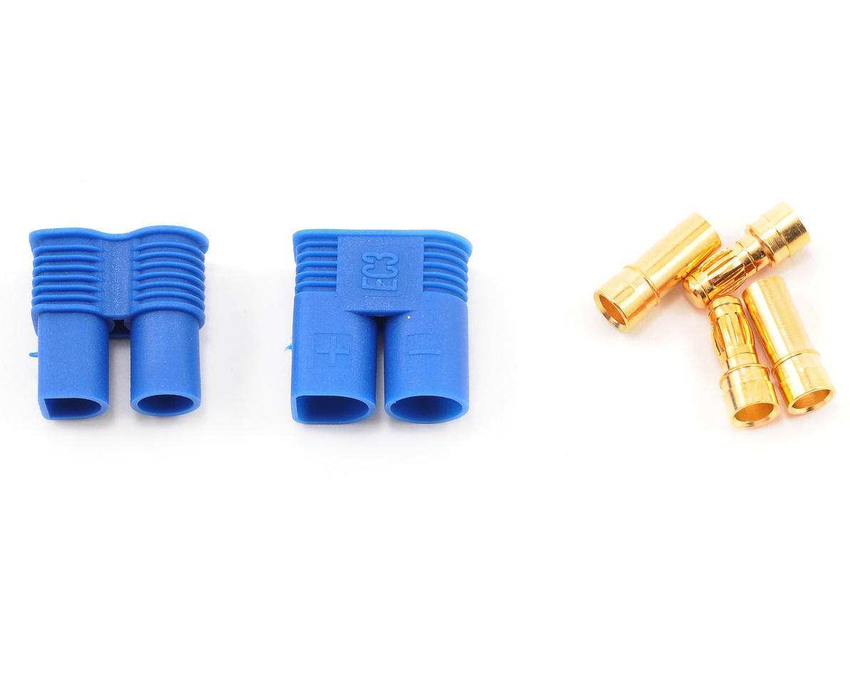 EC3 Style Connectors (1 Male/1 Female) by ProTek RC
