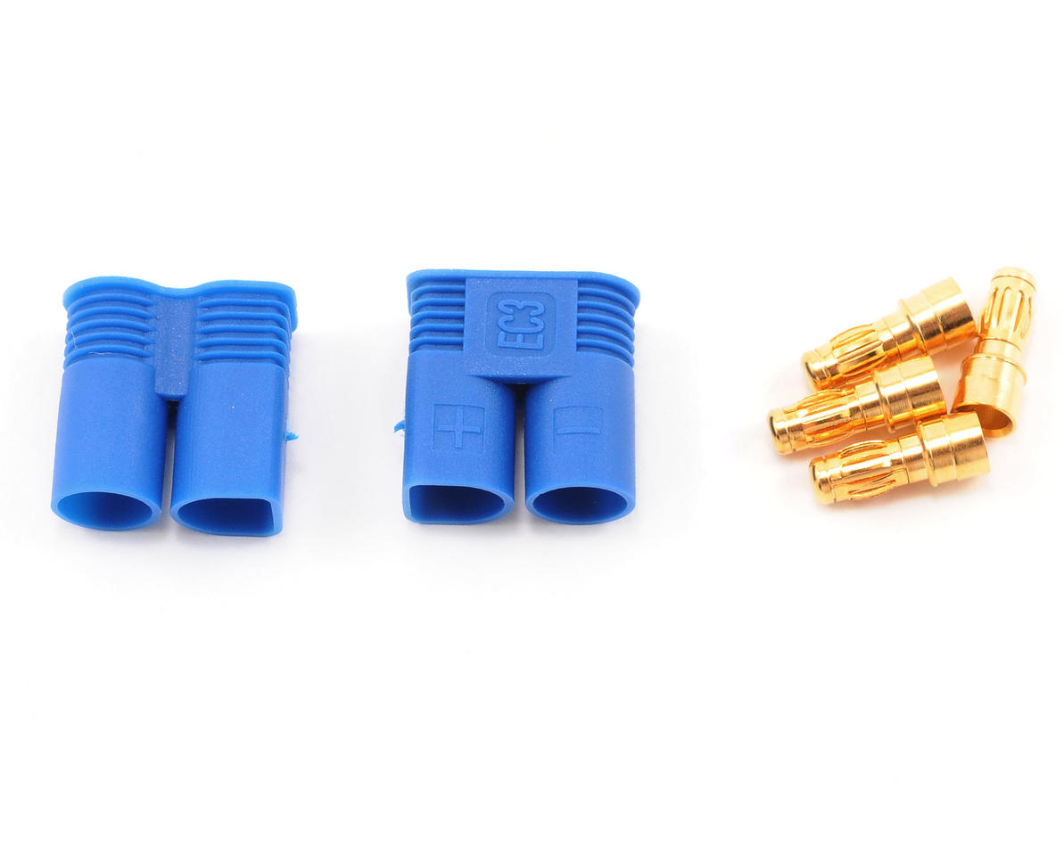 EC3 Style Device Connector (2 Male) by ProTek RC